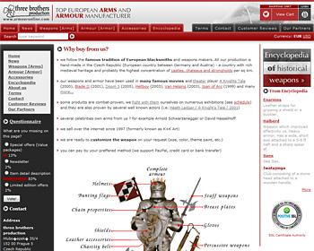 Arms & Armour eShop